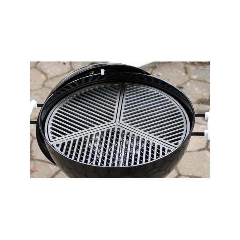 Rørig stbejernsrist til 57/58 grill HU-35