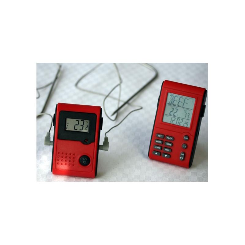 Trådløst 2-kanals termometer