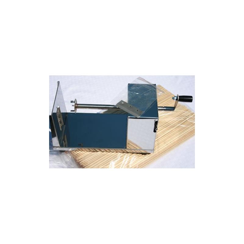 Kartoffelspiral maskine incl. ekstra skær samt 500 spyd