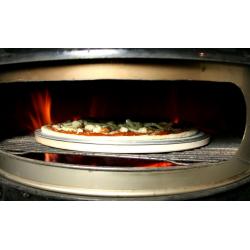 Pizzasten 38cm - komplet sæt med 2 pizzanet