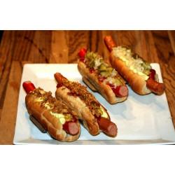 2 stk. flæskeholdere + 4 stk. hotdogholdere