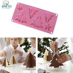 3D juletræs silikoneform