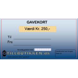 Gavekort Kr. 250,-