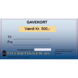 Gavekort Kr. 500,-