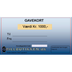 Gavekort Kr. 1000,-