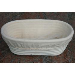 Hævekurv oval 25 x 14,5 x 8 cm.