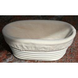 Hævekurv oval 22,5x13,5x7,5 cm.