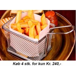 Friturekurv til servering af pommes