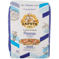 Pizzamel Italiensk Blå Caputo 00 5kg