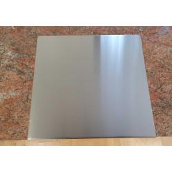 Bage arbejdsplade rustfri stål 50x49x2cm.